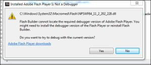 FlashBuilderMessage