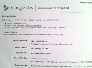 Google Developer Profile